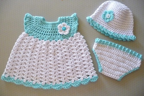 1 Baby-Girl-Sleeper-Set