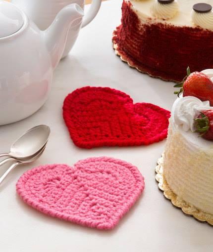 Valentine Heart Coaster