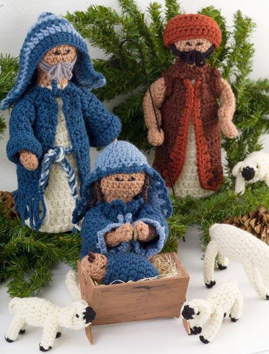 crochet-nativity-set