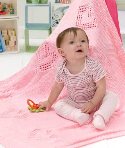 Sweet Hearts Baby Blanket