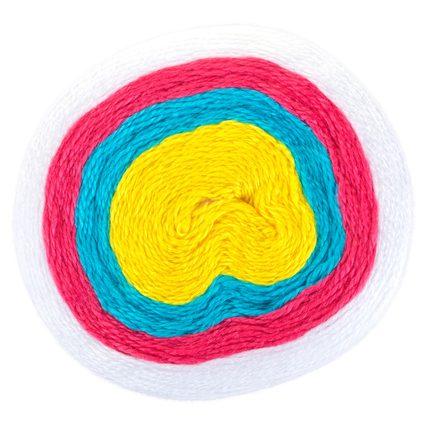 Unicorn Stripes Baby Blanket — Left in Knots | 426x426