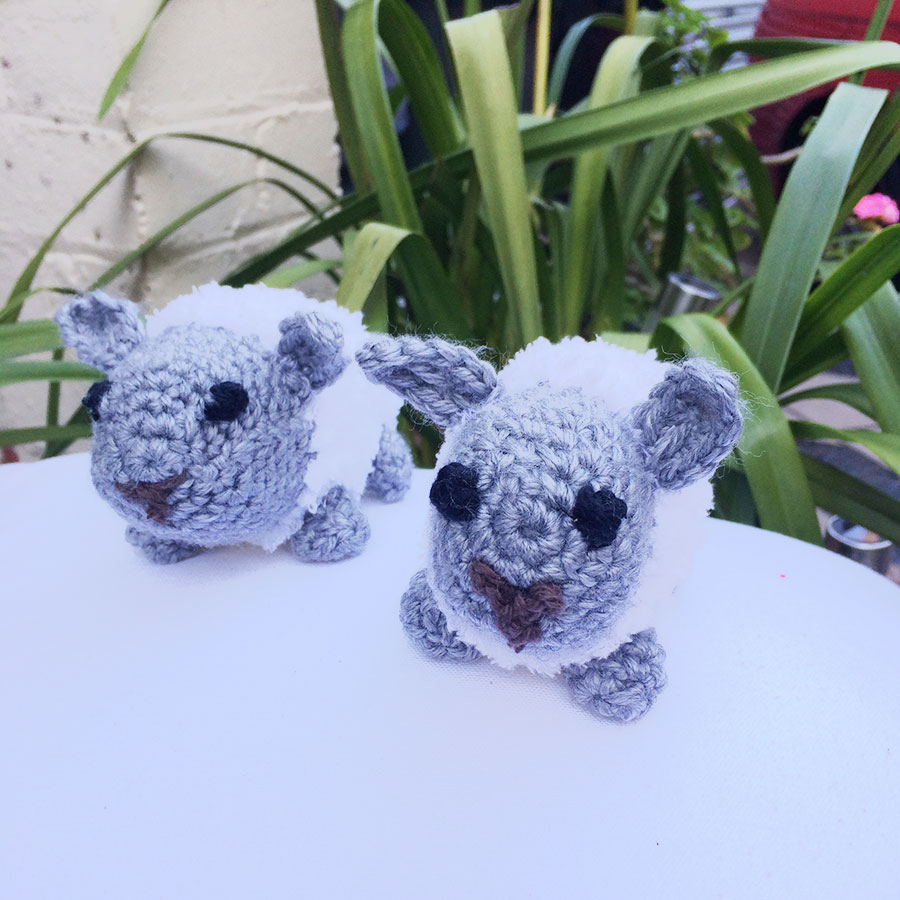 crochet toy woolley the sheep 2